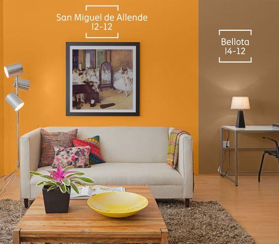 Colores de pintura para salas y comedores for Colores de pintura para sala