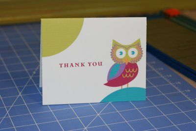 DIY : Free Printable Owl Thank You Card: Cute Cards, Cards Lots, Owl Notecard, Note Cards, Cards Cards, Free Printable Cards, Diy Printables