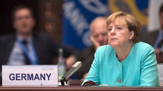 """Merkel in Hangzhou """"sehr unzufrieden"""": Krise an der Ostsee toppt Krisen der Welt"""
