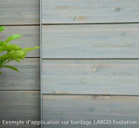 lasure grise exterieure - Recherche Google Façade extension bois