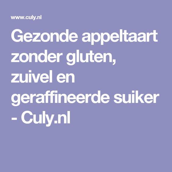 Gezonde appeltaart zonder gluten, zuivel en geraffineerde suiker - Culy.nl