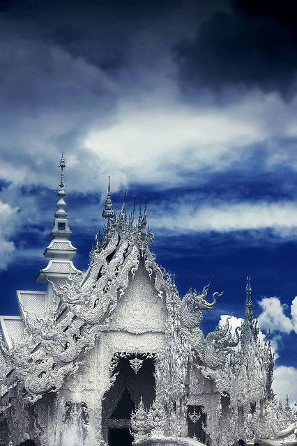 The white Temple Chiang Rai Thailand by marcusway33, via Flickr