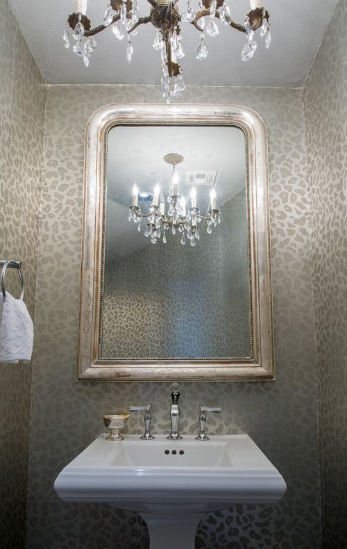 Wild Thing Animal Print Bathrooms With Images Powder Room