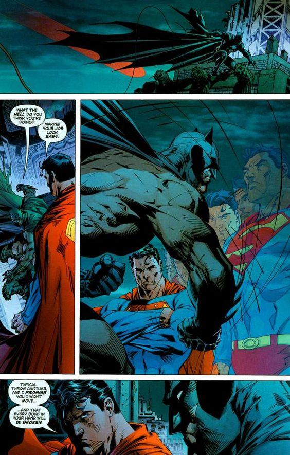 Superman Beats Batman: