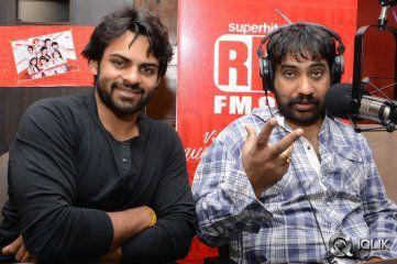 Sai Dharam Tej And YVS Chowdary At Red FM http://www.iqlikmovies.com/events-gallery/Sai-Dharam-Tej-and-YVS-Chowdary-at-Red-FM/gallery/0