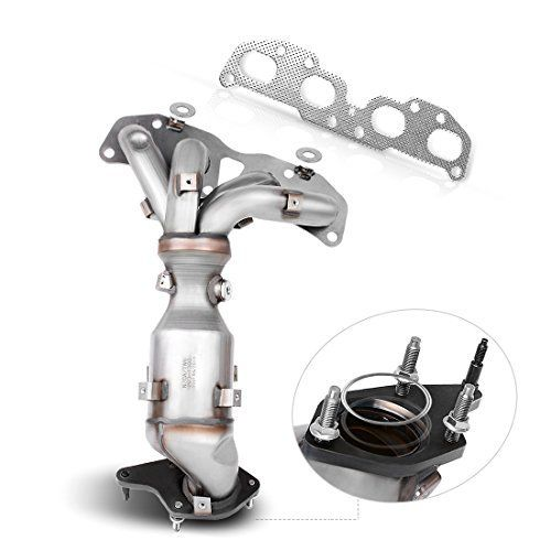 Catalytic Converter W Exhaust Manifold For 07 13 Nissan Altima 2 5l Direct Fit Stainless Steel High Flow Cat Epa Compliant Best Price Oempartscar Com Altima Nissan Altima Exhausted