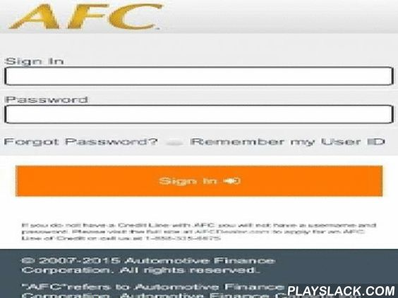 AFC On The Go Android App playslackcom AFC is one of the