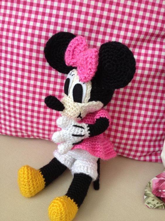 Minnie Mouse Amigurumi Crochet Pattern : Pinterest The world s catalog of ideas