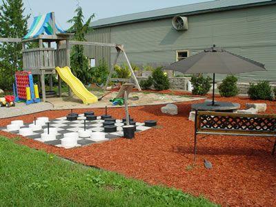 back yard playsets idea backyard playground ideas