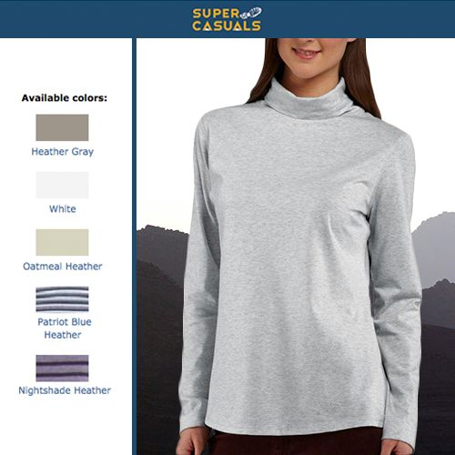 Save 46% now: Get your Carhartt Women's Bardwell Turtleneck now for only $14.99! http://www.supercasuals.com/Carhartt/Carhartt_100684.cfm