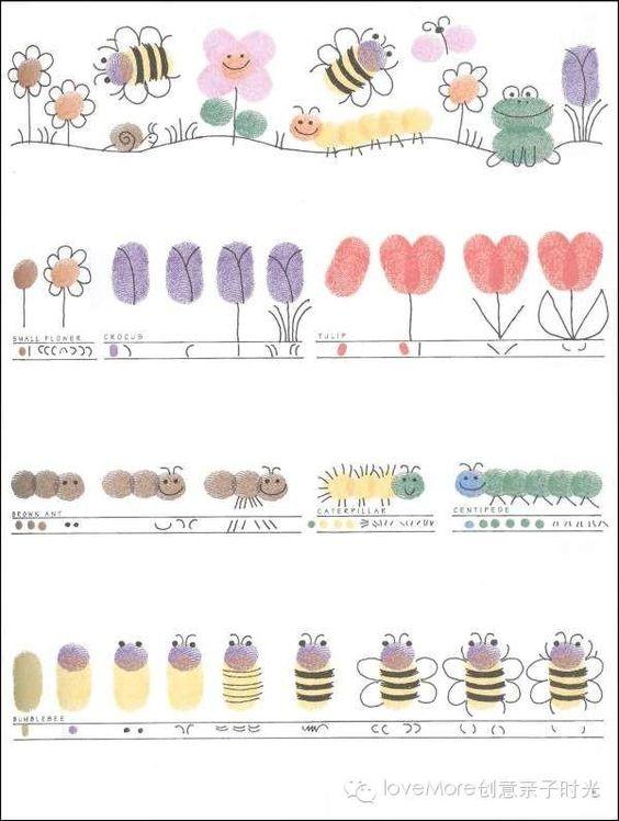 Fingerabdrücke: Alles aus der Natur!