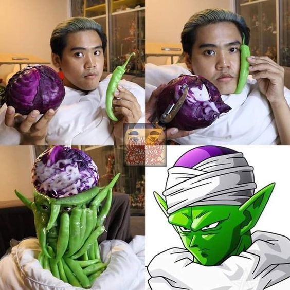 Low Cost Cosplay Piccolo
