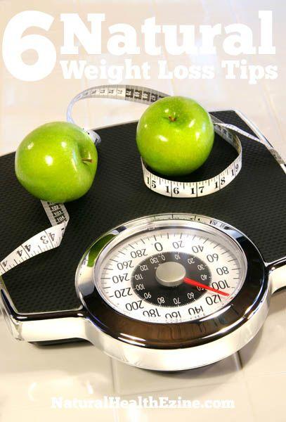 6 Natural Weight Loss Tips