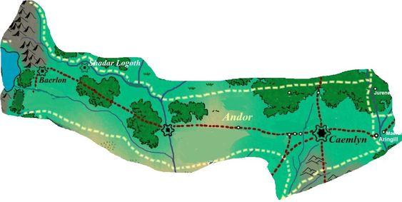 Andor haritası