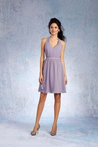 Shop Alfred Angelo Bridesmaid Dress - 7333 S in Chiffon at Weddington Way. Find the perfect made-to-order bridesmaid dresses for your bridal party in your favorite color, style and fabric at Weddington Way.