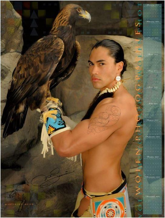 If you look closely, there is a bird. Martin Sensmeier (Tlingit).