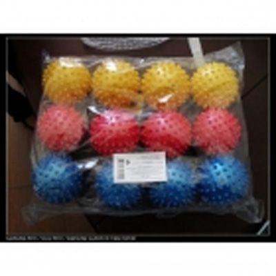 Детские игрушки. Мяч Играем вместе массажный 7,5см в ассорт. купить в интернет-магазине Школа Семи Гномов