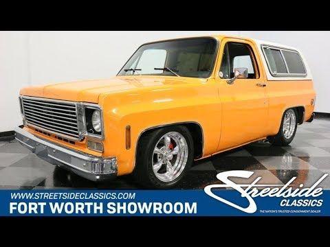 Classic 1976 Chevrolet Blazer For Sale 2219687 23 995 Fort