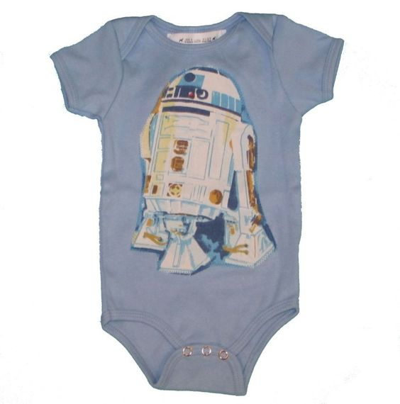 BACK IN STOCK AT #lalaling We LOVE Jill and Jack's R2D2 Onesie! For all the #StarWars fans out there!