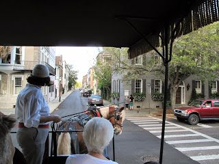 Photos from Charleston - Our favorite carriage driver with Old South Carriage Company