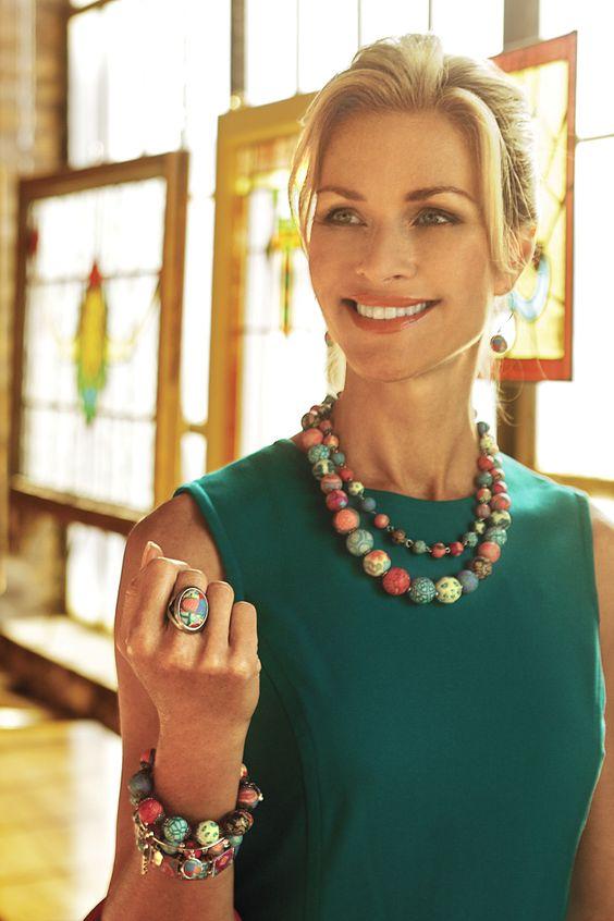 Check out our big, bold and beautiful Medium Keepsake Necklaces   http://jilzarah.com/shop/collections/necklaces/medium-keepsake-necklace/