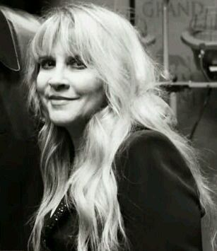 Stevie Nicks--my idol since I was 6 years old!  Quite a long time now!