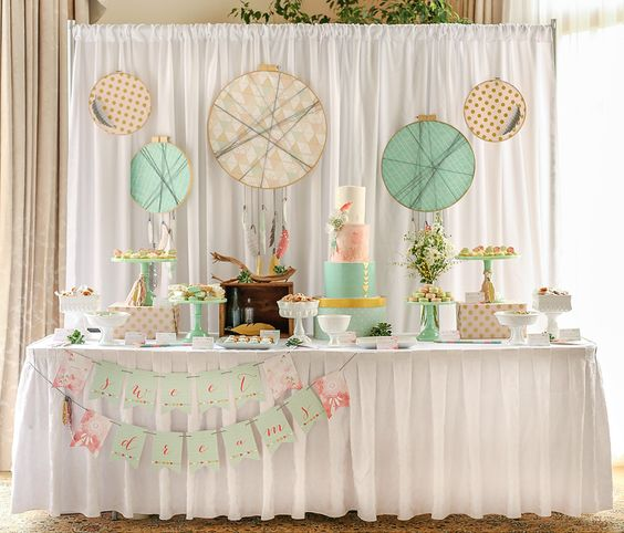 Dessert Tables, Bohemian And Hippies On Pinterest