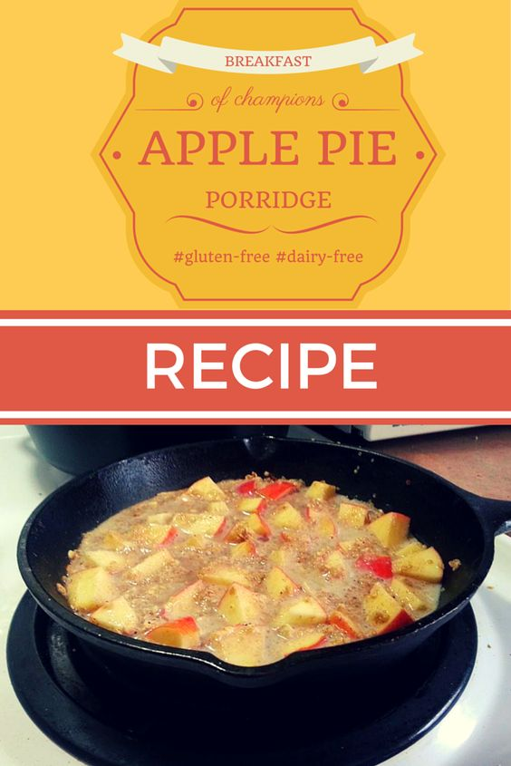 Apple Pie Porridge Recipe