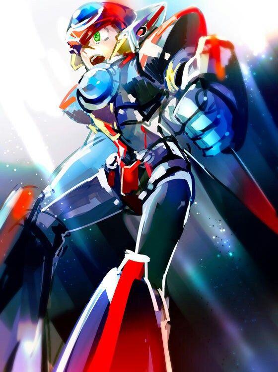 Axl 0 Mega Man Art Mega Man Maverick Hunter