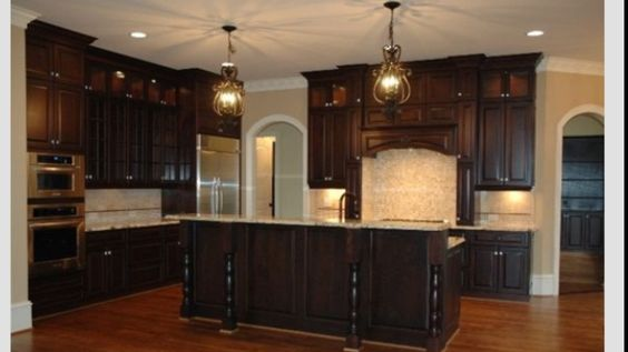 Kitchen cabinet stain