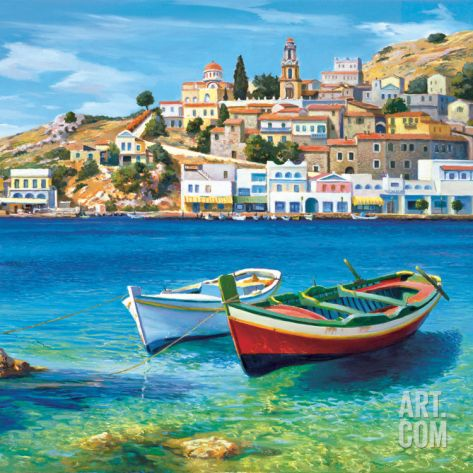 Golfo Mediterraneo Art Print by Adriano Galasso at Art.com