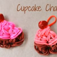 How to make Rainbow Loom Cupcake Charms