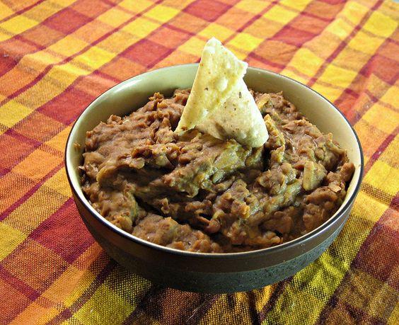 Gracias Madre inspired Frijoles Refritos (vegan refried beans)