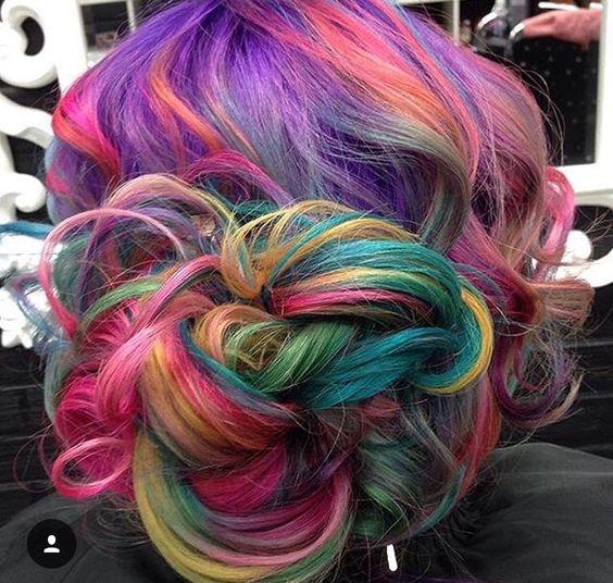 unicorn hair hair makeup pinterest unicorn hair unicorns and hair. Black Bedroom Furniture Sets. Home Design Ideas