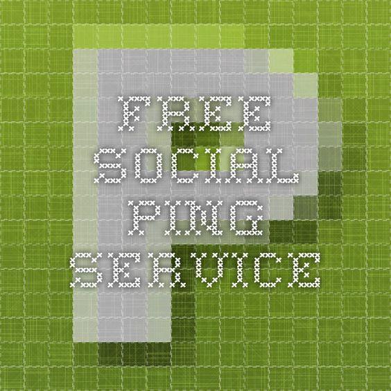 FREE Social Ping Service