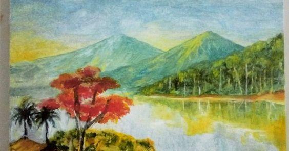 31 Gambar Pemandangan Alam Di Kanvas Tempat Paling Keren Nikmati Pemandangan Alam Di Malang Gambar Pemandangan Sunset Di Kanvas Di 2020 Pemandangan Painting Lukisan