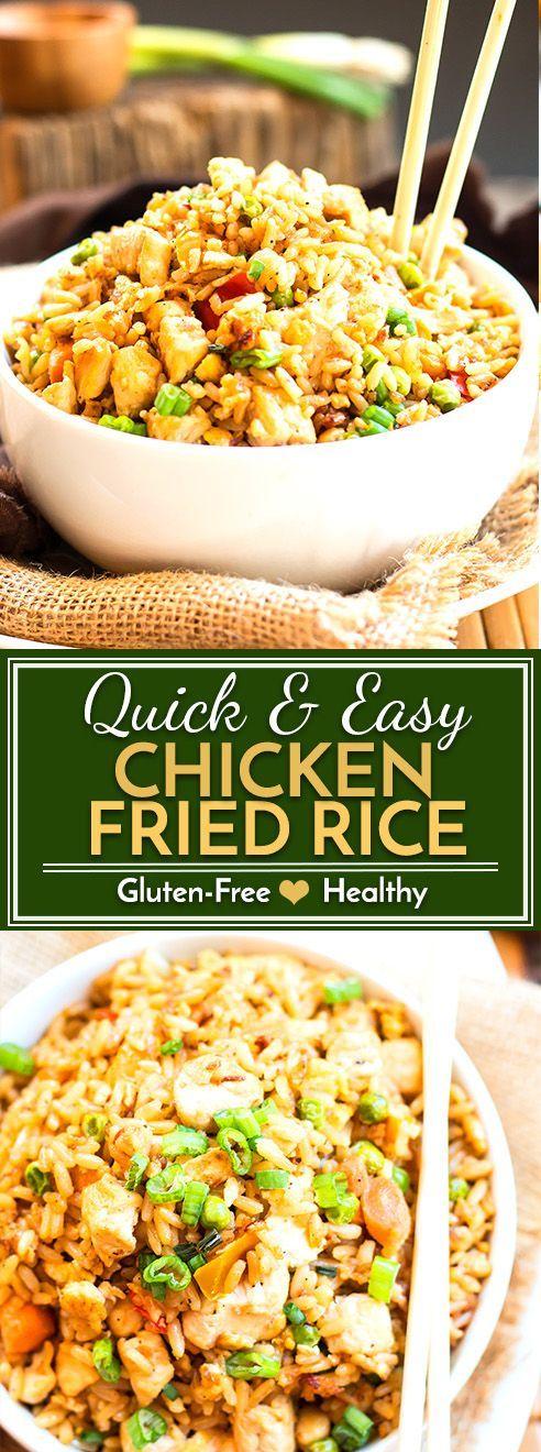 Gluten-Free Chicken Fried Rice