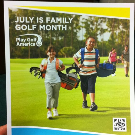 July is Family Golf Month!