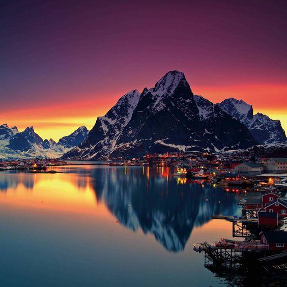 Earth Pics On Con Immagini Lofoten Luoghi Meravigliosi Norvegia