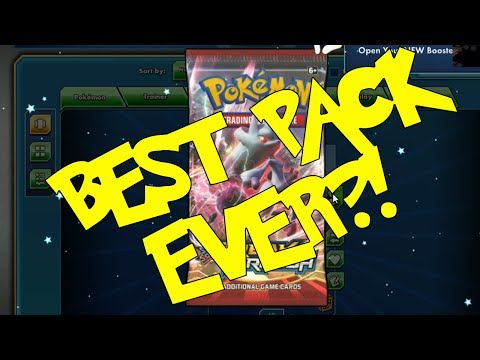 MASSIVE Pokemon TCG Online Booster Pack Openings!! [Best Pack Ever?!] - YouTube