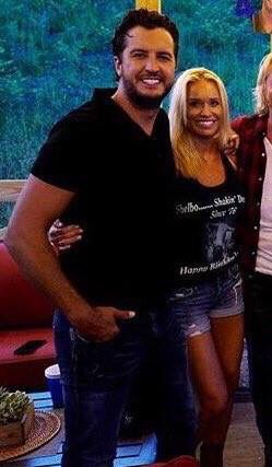 Luke & Caroline Bryan - July 17, 2016 - Luke's Birthday