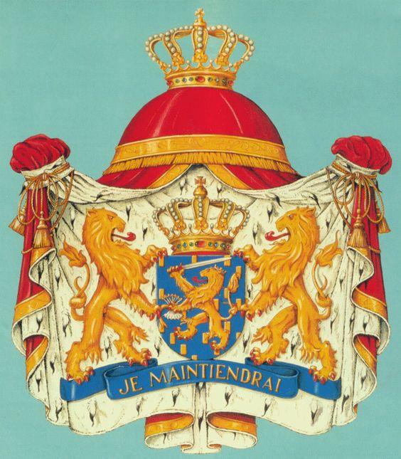 Het wapen van het Koninkrijk der Nederlanden De Leeuw is een yoga houding!