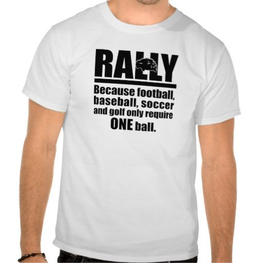 Rally Racing T-shirts makes sense.