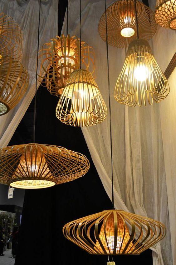 Bamboo Lights at Fair Forward - Daphna Laurens Lighting - creer sa maison en ligne