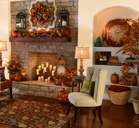 Beautiful fireplaces and thanksgiving on pinterest