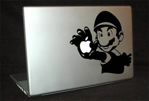 epic macbook decals ironman super mario