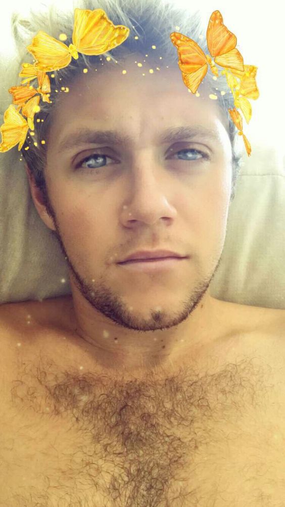 Niall on Snap Chat