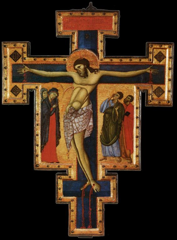 Master of St. Francis, crucifix, c.1270-80: