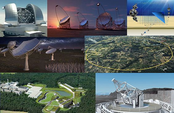 <p>Grandes infraestructuras de astronomía y física de partículas unen sus fuerzas para hacer que sus datos y software estén abiertos./ IAA/ESCAPE</p>