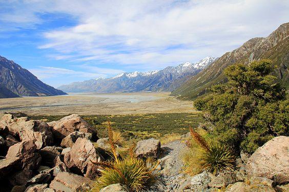 Neuseeland – Vielfalt der Südinsel, Kalenderblatt Januar: Tasman Valley